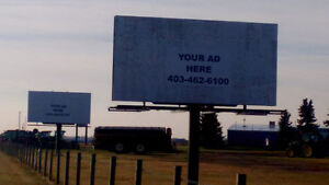 Billboards for sale: $7000 each