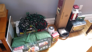 Online Garage Sale! X-mas tree, TV, Mini Drone, air popper & mor