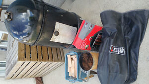 "18"" Weber Smokey Mountain Cooker & Accessories"