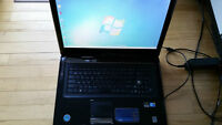"Asus N70SV 17"" laptop with Windows 7 Pro"