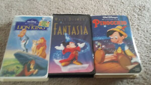 Disney VHS - Fantasia Lion King & More London Ontario image 1