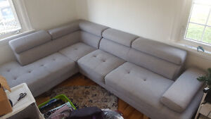 Large modern sectional couch