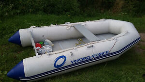 Hydro Force inflatable with outboard motor