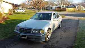 1999 Mercedes Benz  C230 $600 OBO or trade for good snowblower Cambridge Kitchener Area image 1