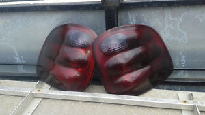 aftermarket smoked taillights fit 97-03 F150 flareside,supercrew