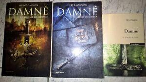 Collection Damné d'Hervé Gagnon (3 premiers tomes)