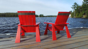 Modern Muskoka Chairs - Free Delivery to most of Ontario