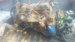 Chevy 350 complete motor