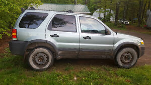 2006 Ford Escape XLT SUV, Crossover (for parts)