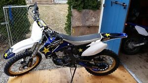 Yamaha YZ450F - New Suspension