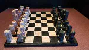 Chess Set - Mexican Marble