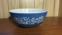 Pyrex Colonial Mist Blue 404 largest bowl