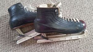 Vintage CCM Cyco Men's Leather Skates