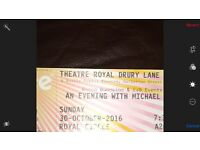 An evening with Michael Douglas hosted by Jonathan Ross Thestre royal oct 30