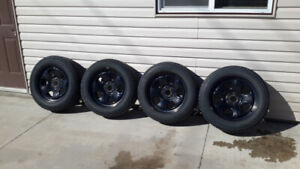 2012 Dodge Charger Snow tires