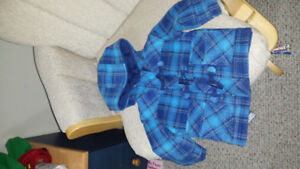 Baby boy winter coat, sweater and vest