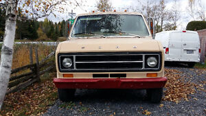 1976 Ford E150 campeur Fourgonnette, fourgon