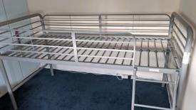 Bed frame single 6ft X 3ft mid sleeper.