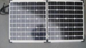 90W Portable Folding Solar Panel with case, etc.