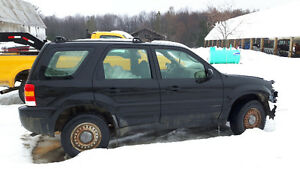 2001 Ford Escape 4x4 5 Speed