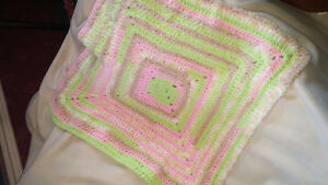 Beautiful Crocheted Baby Blankets