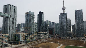 New Luxury 1+1 (750 sq)-Unobstructed View-Bathurst & Lake Shore