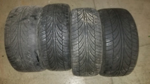 245/40/17 and 225/45/17 used tires