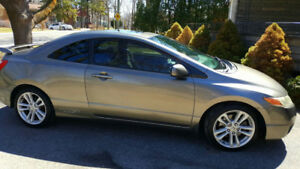 2006 Honda Civic Coup V-Tech Galaxy Gray