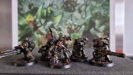 Chaos Space Marine Havocs - Warhammer 40K - Iron Warriors