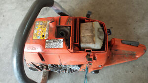 two husky chainsaw power heads for rebuild