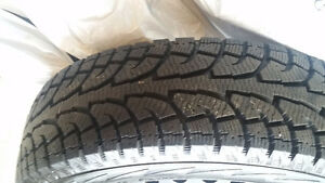 HANKOOK snow tires and rims for sale Cambridge Kitchener Area image 4