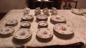 BEAUTIFUL, COLLECTIBLE SANGO CHINA SET FOR 12