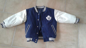**TORONTO MAPLE LEAFS** BOMBER JACKET - BARELY USED