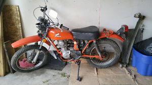 OLDER HONDA FOR SALE - NEEDS WORK