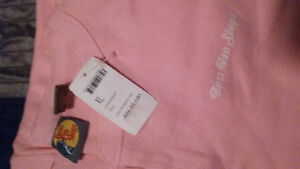 new with tags pink bass pro shop onsie!