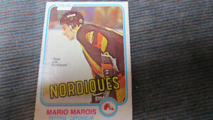 Mario Marois NHL rookie card