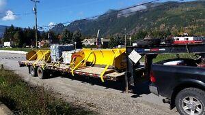 Equipment Haul to Alberta-BC-Manitoba-Saskatchewan-Yukon