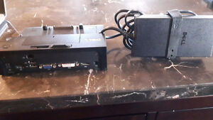 Dell PRO3X Laptop Dock and Power Supply