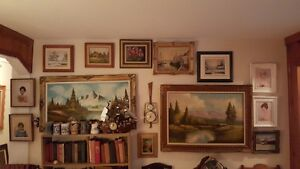 Vintage ART SALE Quality oil paintings various artists West Island Greater Montréal image 1