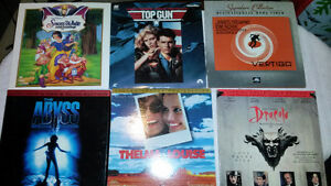 Laser Discs - Great And Collectible Titles **Lot of 13 for 45$
