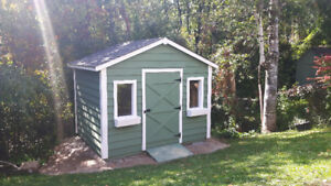 Custom Built Pine Sheds