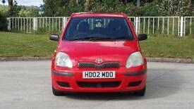 2002 Toyota Yaris 1.0 VVT-i T3 5dr