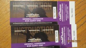 Clinton Anderson Clinic Tickets for sale