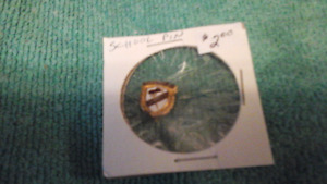 John A Lockhart School Pin Burlington