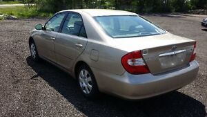 2002 Toyota Camry LE Sedan - CERTIFIED & E-TESTED! Kitchener / Waterloo Kitchener Area image 3