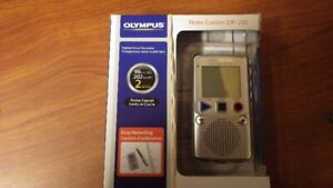 Olympus note recorder DP-201 digital voice recorder