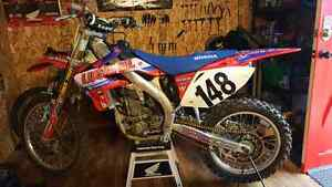 2006 Honda CRF450 with Ownership