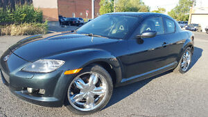 2005 Mazda RX8 cuir toit seulement130000 km.extra propre SPECIA