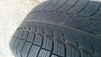 4 x 245/50R20 Michelin Xice II Toyota Venza, over 85% tread left