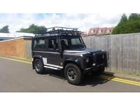 2001 AUTO LAND ROVER DEFENDER 90 TOMB RAIDER EDITION GREY RARE AUTOMATIC NO VAT